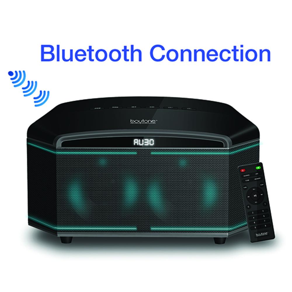 Boytone BT-64B, 100-Watts Wireless Bluetooth Premium HiFi Home Stereo Theater Sy