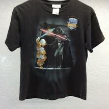 Walt Disney World Shirt Jedi Training Academy Size Larke Black Youth - $17.77