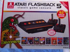 Atari Flashback 5 Classic Game Console with 92 Games Wireless JoySticks ... - $19.30