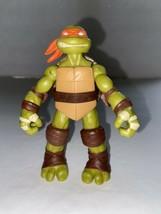Teenage Mutant Ninja Turtles Michaelangelo Modern Figure Viacom Playmat... - $5.94