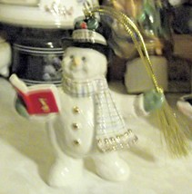 Lenox 2018 Snowy Song Snowman Ornament  - $24.30