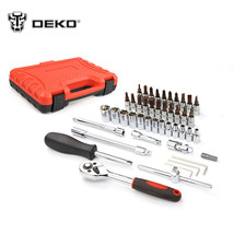 Socket Wrench Tool Combination Package Set Auto Repair Mixed Ratchet Han... - $47.59