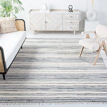 Safavieh Rag Rug Collection RAR126A Handmade Boho Stripe Cotton Area Rug... - $126.00