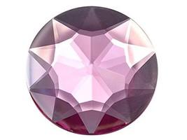 32mm Pink H112 Flat Back Round Acrylic Rhinestones Plastic Circle Gems for Costu - $6.71