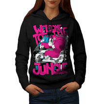 Welcome To Jungle Animal Sweatshirt Hoody Car Driver Women Hoodie - $21.99+