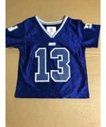 NFL Team Apparel NY Giants Boys Jersey - 2T - Beckham Jr #13 New - $13.78