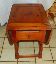 Pine Dropleaf End Table / Side Table by Mersman  (RP-T324) - $299.00