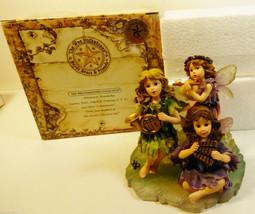 Boyds Wee Folkstone Jillian Piper & Melody Sugarplum Sonata #36015 Figurine - $34.65
