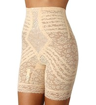 Rago High Waist Long Leg Shaper Girdle (6207) XL/Beige - $43.66