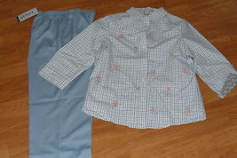 LADIES  PANTS SIZE 10P KENNETH TOO & SHIRT SIZE PM KENNETH TOO NWT - $28.99