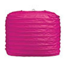 """2 hot pink paper square lanterns 8"""" wedding party decorations - $12.82"""