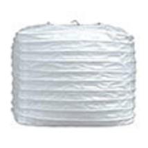 "2 white paper square lanterns 8"" wedding party decorations - $12.82"
