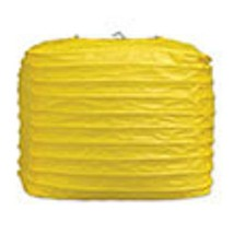 """2 yellow paper square lanterns 8"""" wedding party decorations - $12.82"""