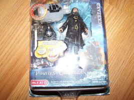 "Disney Pirates of the Caribbean POTC Blackbeard Action Figure 4"" Jakks P... - $16.00"