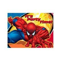 Hallmark Marketing Corp. Spiderman Invitations - $4.15