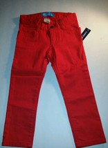 Old Navy Kids Girls Skinny Jeans Pants Red  Valentine's Day Denim 3 T  Bottoms - $16.81