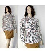 Vintage Blouse - Secretary / Office Style - OP ... - $7.50
