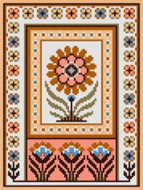 "Latch Hook Pattern Chart: READICUT #748 THEBES 27"" x 36"" - EMAIL2u - $6.95"