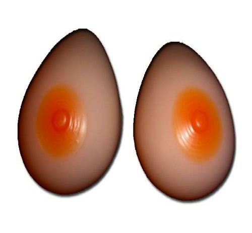 Silicone Breast Forms Mastectomy Size 4 34B/36A/38AA - $30.68