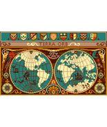 Latch Hook Pattern Chart: READICUT #1202 Terra ... - $6.95