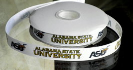 Alabama State University Inspired Grosgrain Ribbon - $5.90