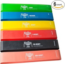 Resistance Loop Band Set Best Fitness Workout Physical Therapy - $512,00 MXN