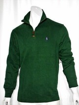 Polo Ralph Lauren french rib half zip pullover sweater size medium - $79.95