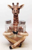 *Safari Adorable Giraffe Far Reach Salt Pepper ... - $27.06