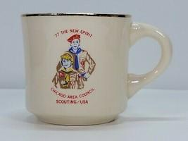 Vintage BSA Chicago Area Council Coffee Mug | '77 The New Spirit - $30.00