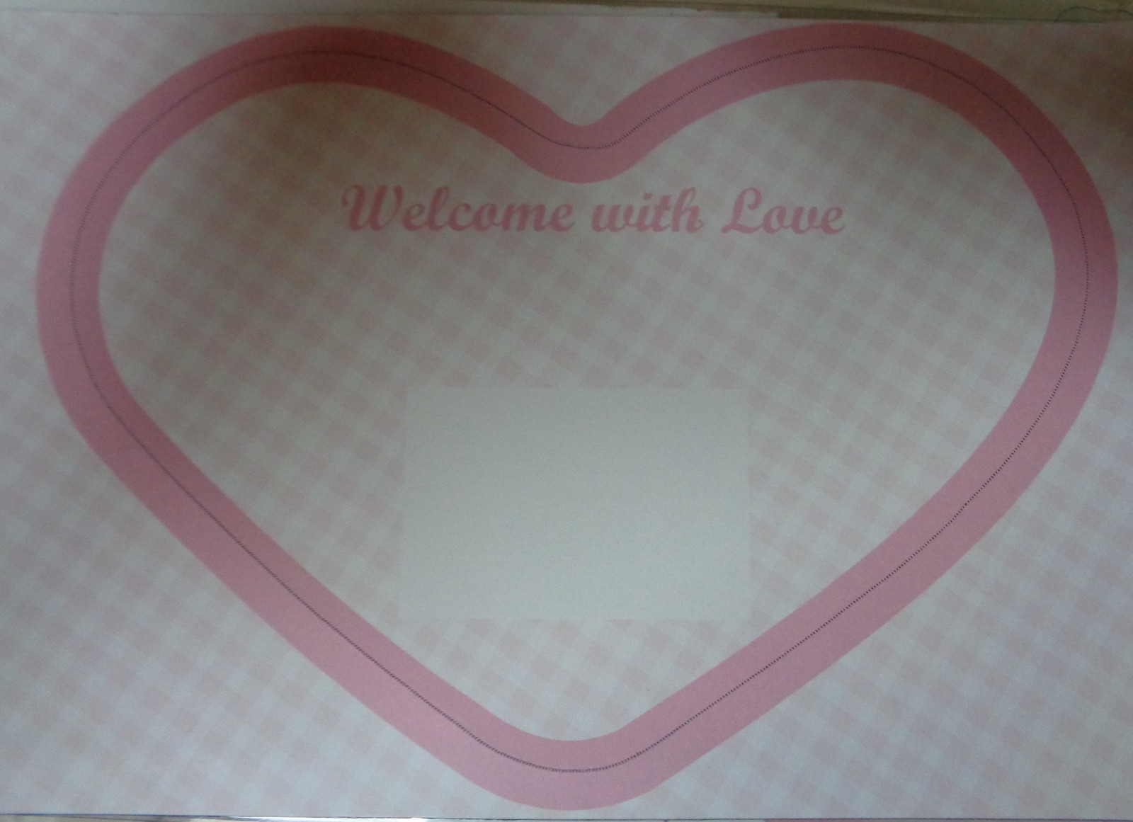 Pink Heart Baby Announcement Magnets 12 Pieces NIB Wilton DIY Personalize Perfor