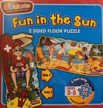 Fun in the sun more fun, brand new sealed 2 sided Puzzle educational Puz... - $24.75