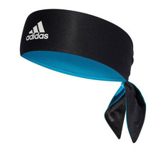 adidas Tennis Tieband Bandana Reversible Climalite Sports Headband Black DU8456 - $22.37