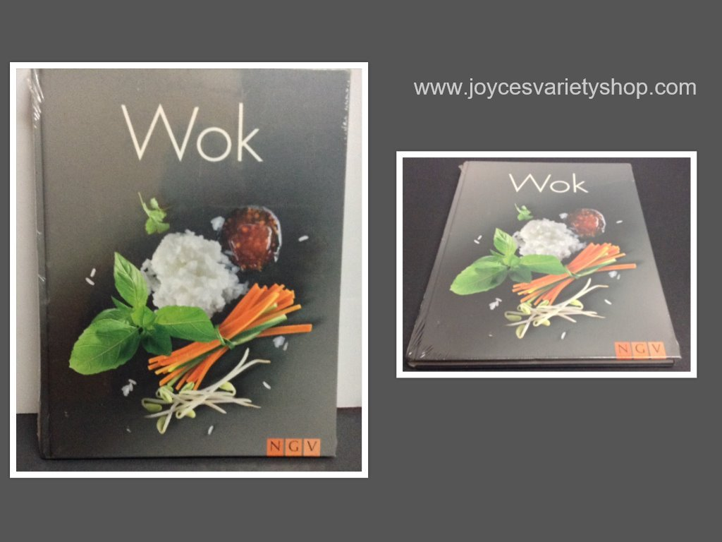 Wok book collage