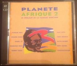 Planete Afrique 2 Best Of African Music 2 Cd Set 1996 - $12.00