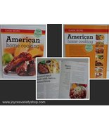American Home Cooking Book Classic Recipes Wendy Hobson NEW - $8.99