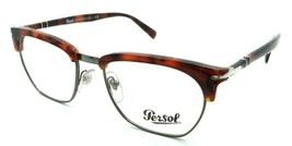 Persol RX Eyeglasses Frames 3196 V 1072 53-19 Brown Tortoise Tailoring E... - $120.54