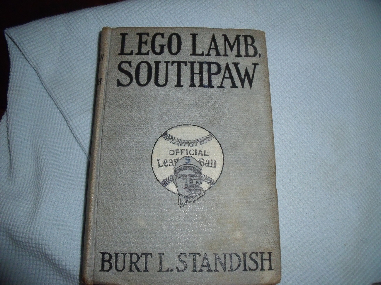 Lego Lamb, Southpaw By Burt L. Standish first edition 1923