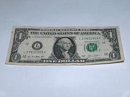 2013 $1 Dollar Bill US Bank Note Year Date Birthday 2793 1955 Fancy Mone... - $13.78