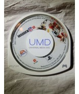 **No Case** EA Sports Madden 10 NFL - Sony PSP 2010 UMD Only Rated E Game Only - $9.49