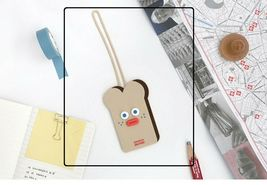 Brunch Brother Suitcase Luggage Tag popped Eyes Baggage Travel Bag (Toast) image 3