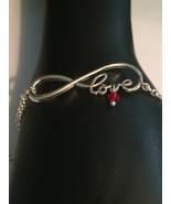 Infinity Love Bracelet 7 or 8 inch  - $12.99