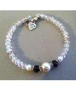 Beautiful Crystal Bead Bracelet - $16.99