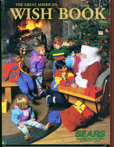 1992 The Great America WISH BOOK SEARS Christmas Catalog - $25.25
