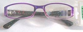 Foster Grant Simply Specs Zenaida Flower Purple Reading Glasses +1.50 - $14.99