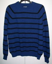 EXPRESS 100% Lambswool Striped Sweater Sz Small Medium - $18.98