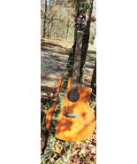 Extra Long Camouflage / Camo Crochet Guitar Strap for Guitar with one En... - $8.00