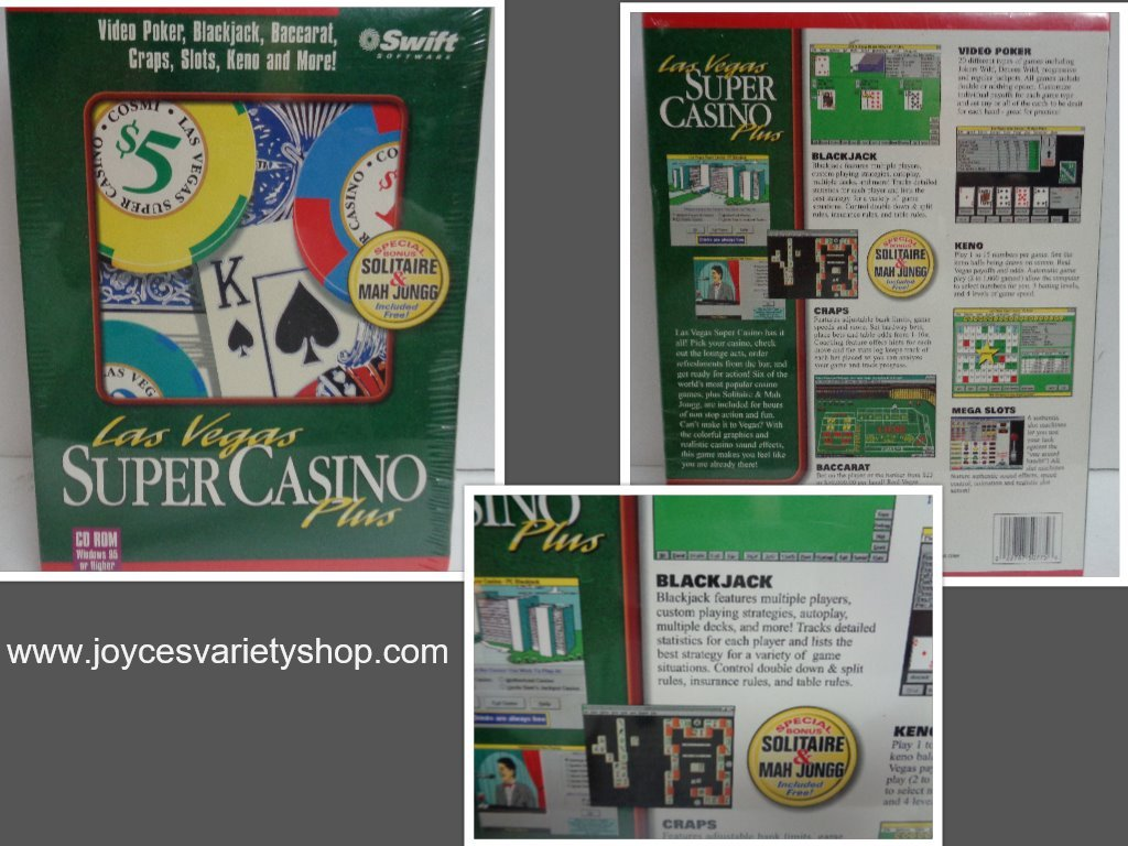 Casino plus cd collage