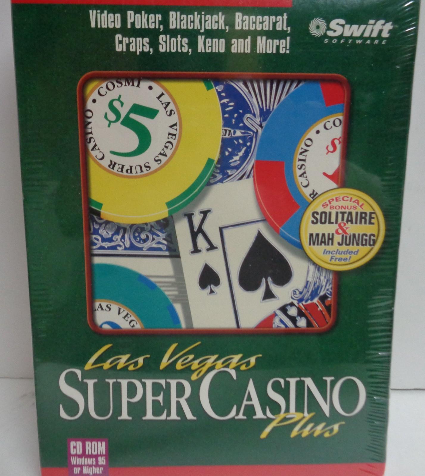 Super Casino Plus Computer Game Software NIB