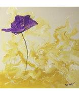 Original 8x10 Floral Canvas Wall Art  -: rdoward fine art - $19.00