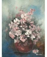 Original 8x10 Floral Canvas Wall Art 02 -: rdoward fine art - $19.00